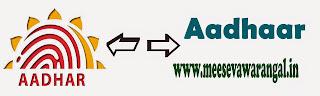 Aadhaar Card Correction Online Govt web site