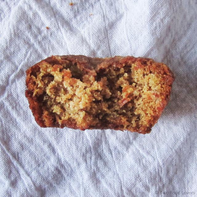 Bitten Zucchini Nut & Streusel Muffin