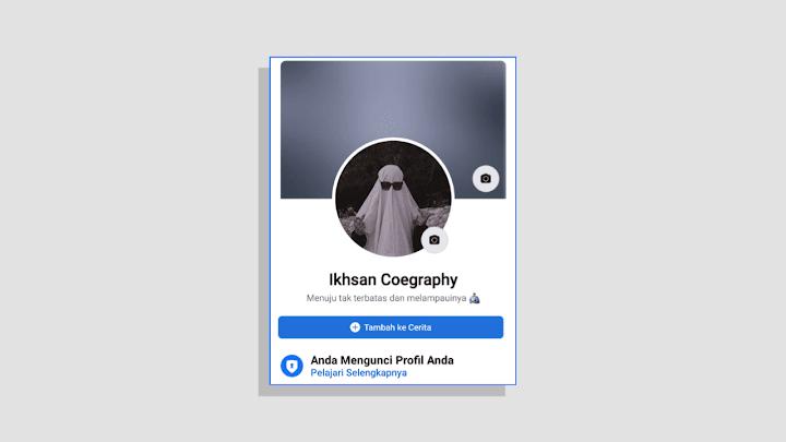 Mengunci Profil Facebook Lite