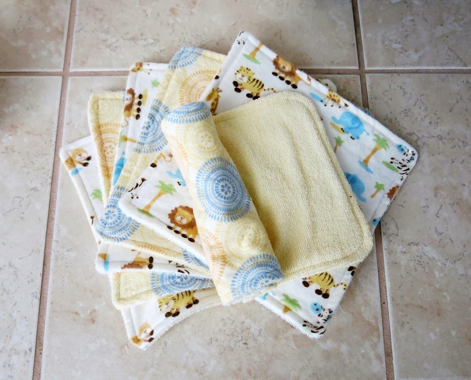 A Mighty Good Yarn Diy Tutorial Baby Washcloths And Burp