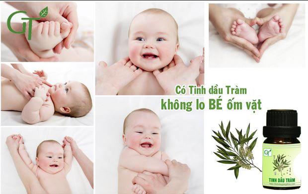 Tinh dầu Tràm nguyên chất được nhiều mẹ yêu thích sử dụng cho con