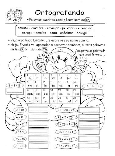 Portugues 4 Ano Exercicios Atividades Para Imprimir Iii