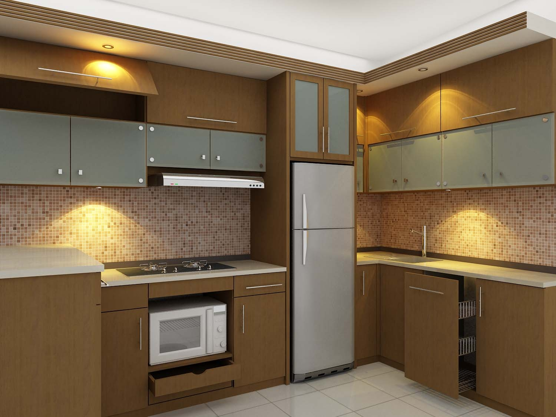 Gambar dapur minimalis for Kitchen set jadi