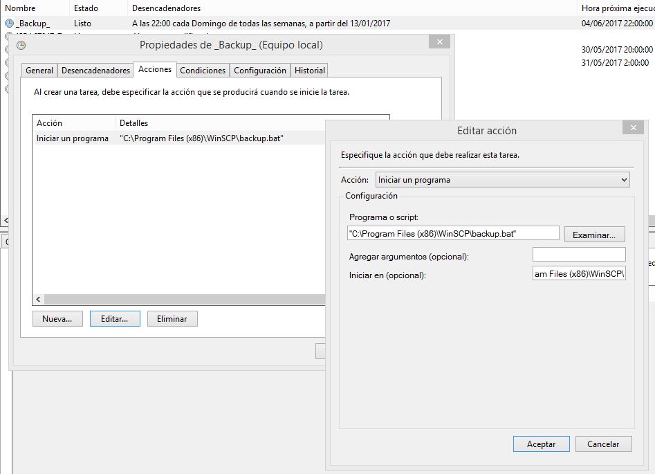 Zona System | Automatizar copias de seguridad FTPS en Batch