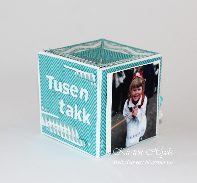 My Craft And Garden Tales A Pop Up Cube Card With Template