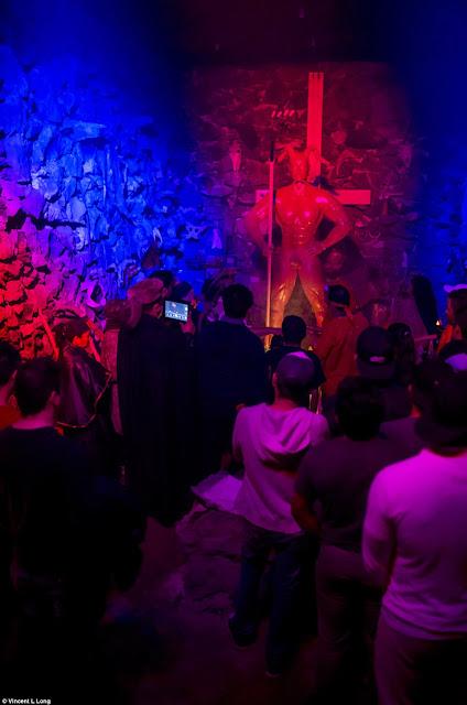 Koleksi Foto Investigasi Ritual Pengorbanan Darah Kaum Penyembah Setan