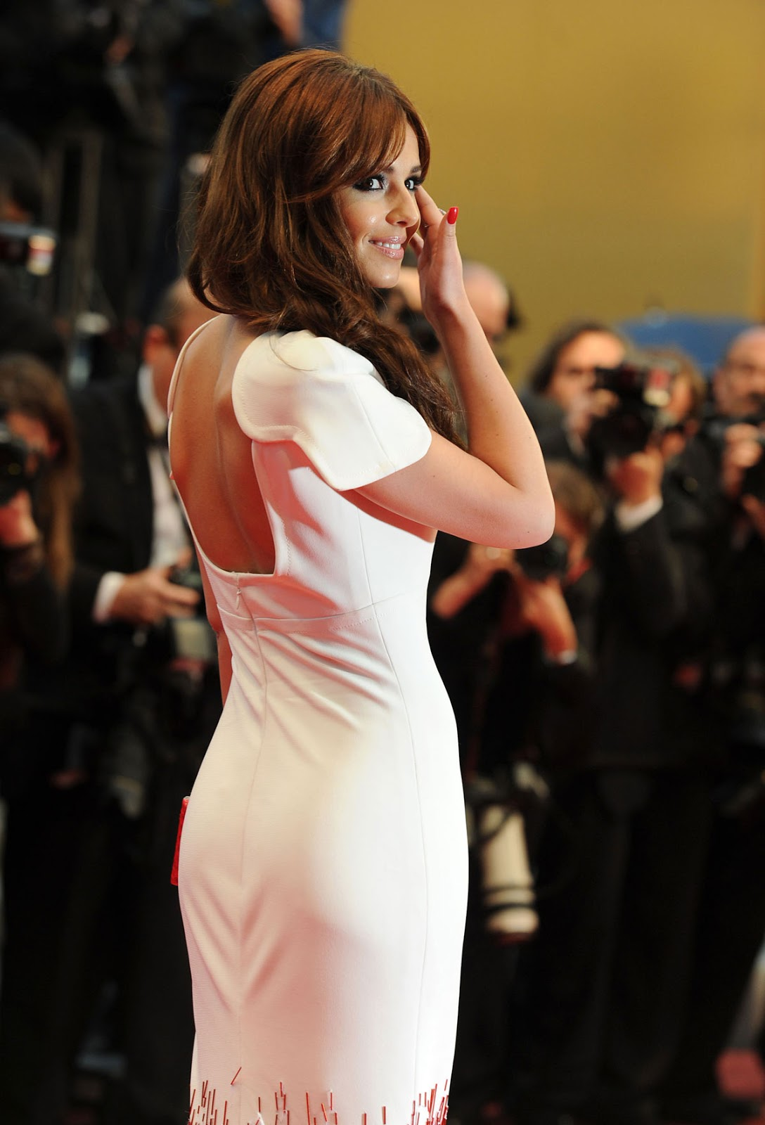Cheryl Cole At Amour Premiere At Cannes Film Festival