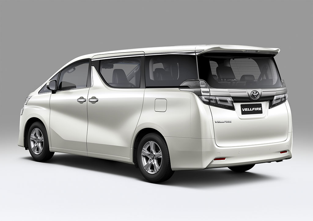 all new vellfire 2018 grand avanza veloz luxury motoring malaysia umw toyota are now selling the upgraded 18 inch aluminium alloy wheels with a dynamic design fitted