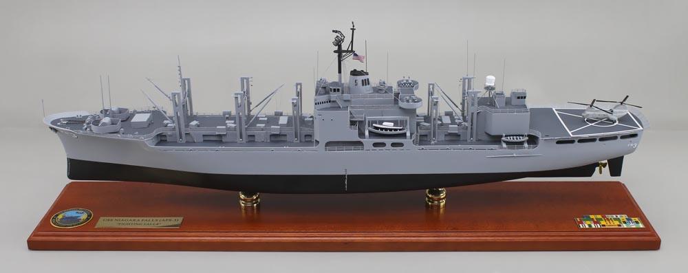 Mars Class Combat Stores Ship Model | SD Model Makers