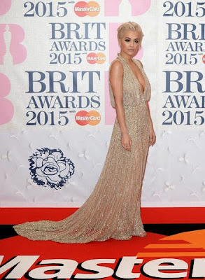 Rita Ora BRIT Awards 2015