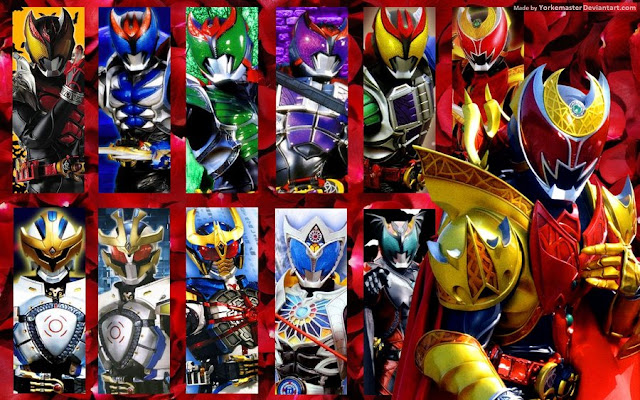 Download Kamen Rider Kiva Sub Indo