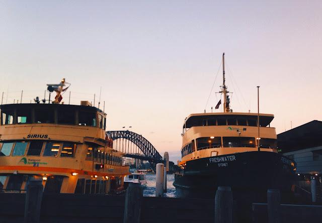 Circular Quay ferries
