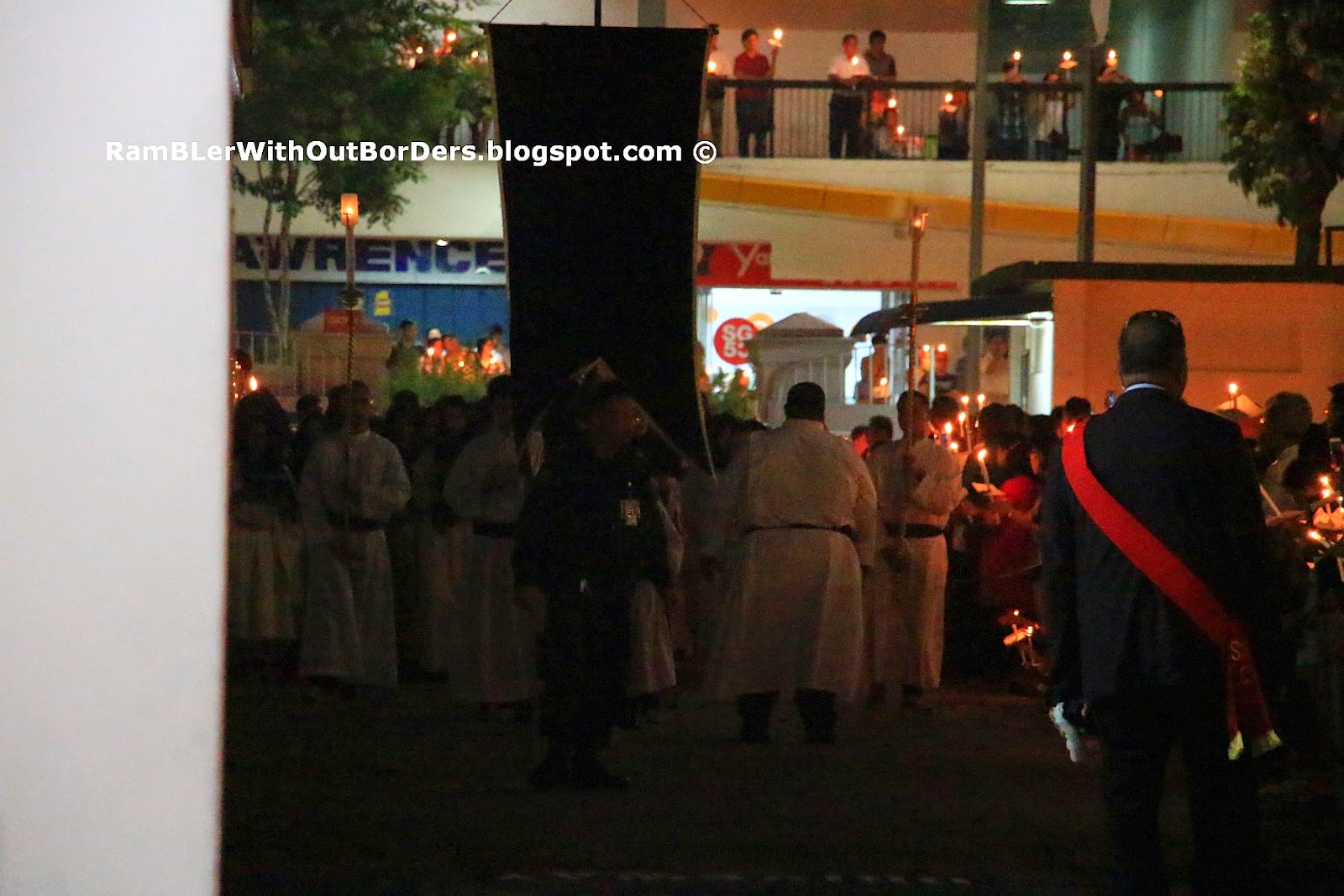 Good Friday Candle-Light Procession, St Joseph's Church, Victoria St, Singapore