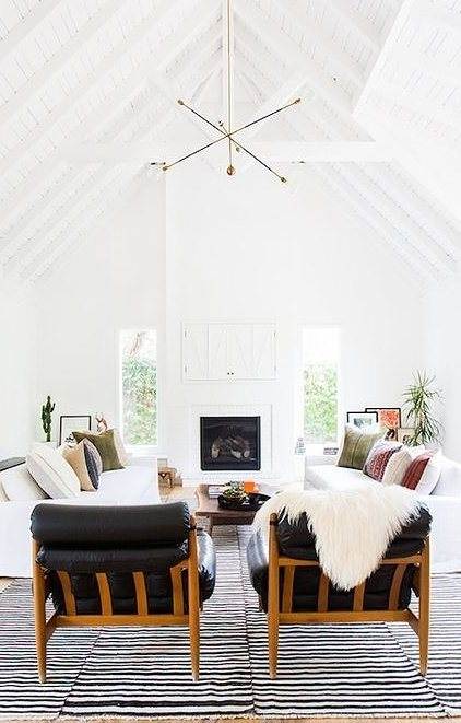 scandinavian living room interior design