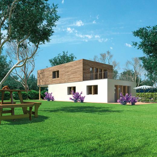 Vivere in case di legno for Case prefabbricate modulari