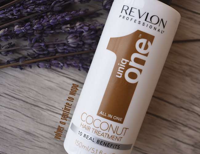 Uniq One Coconut, cuidado para el cabello rizado