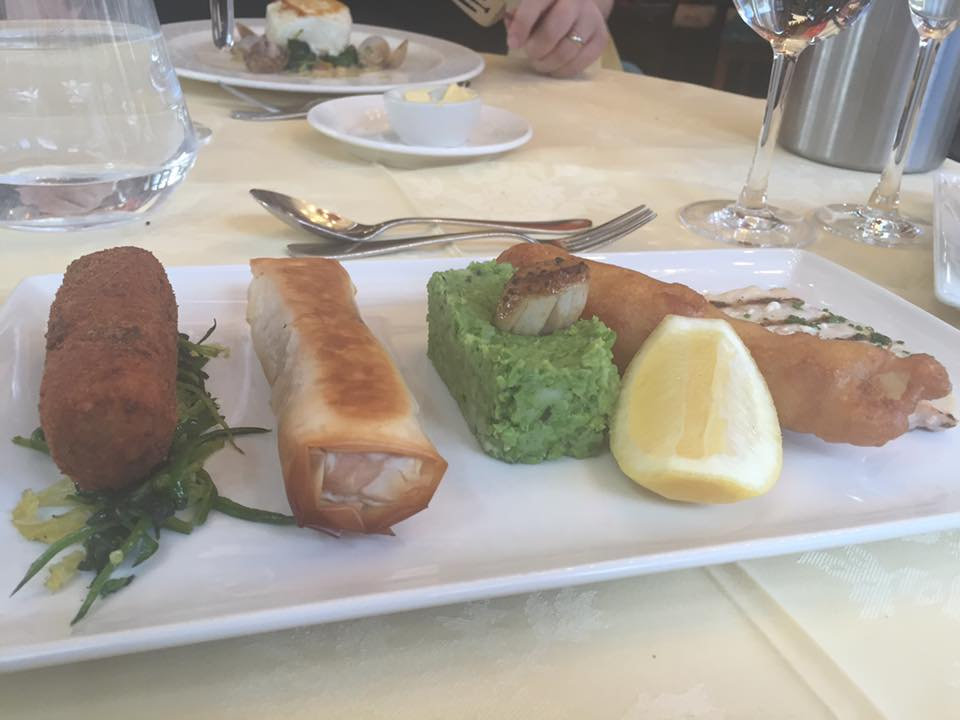 Crab and Lobster Restaurant, Thirsk - Fish Platter
