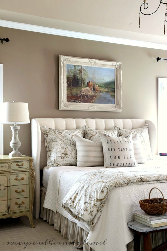 Savvy southern style the five master bedroom bed styles for Southern style bedroom