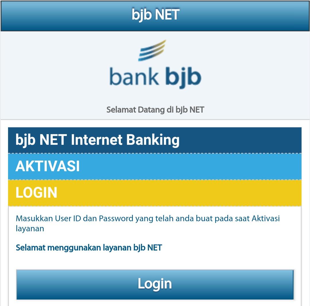 Cara Daftar SMS, Internet dan Mobile Banking Bank BJB