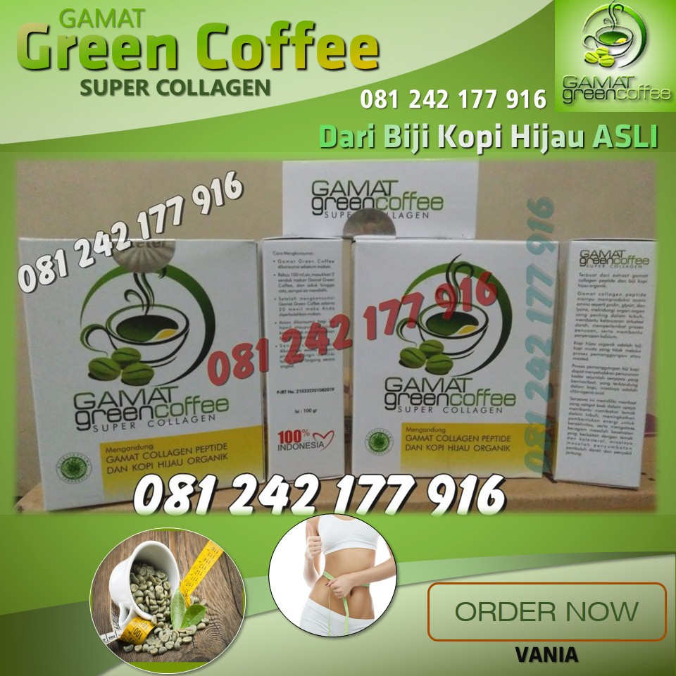 Cara Membedakan Green Coffee Yang Asli dan Palsu