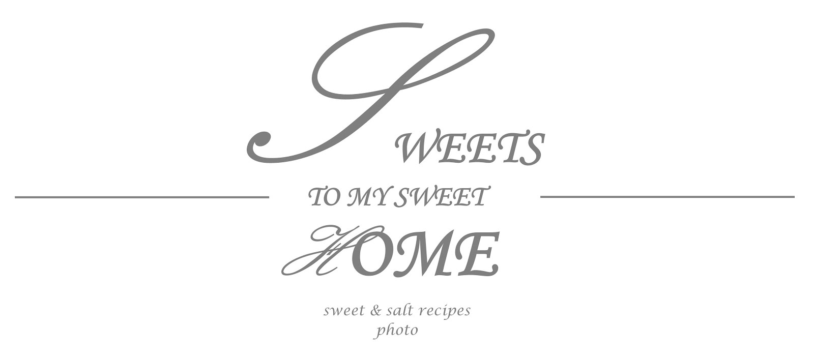 Sweets to my Sweet Home