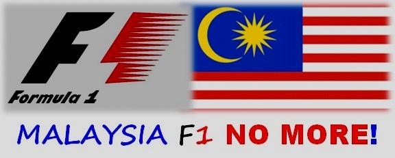 Malaysia berhenti jadi tuan rumah F1 pada 2018