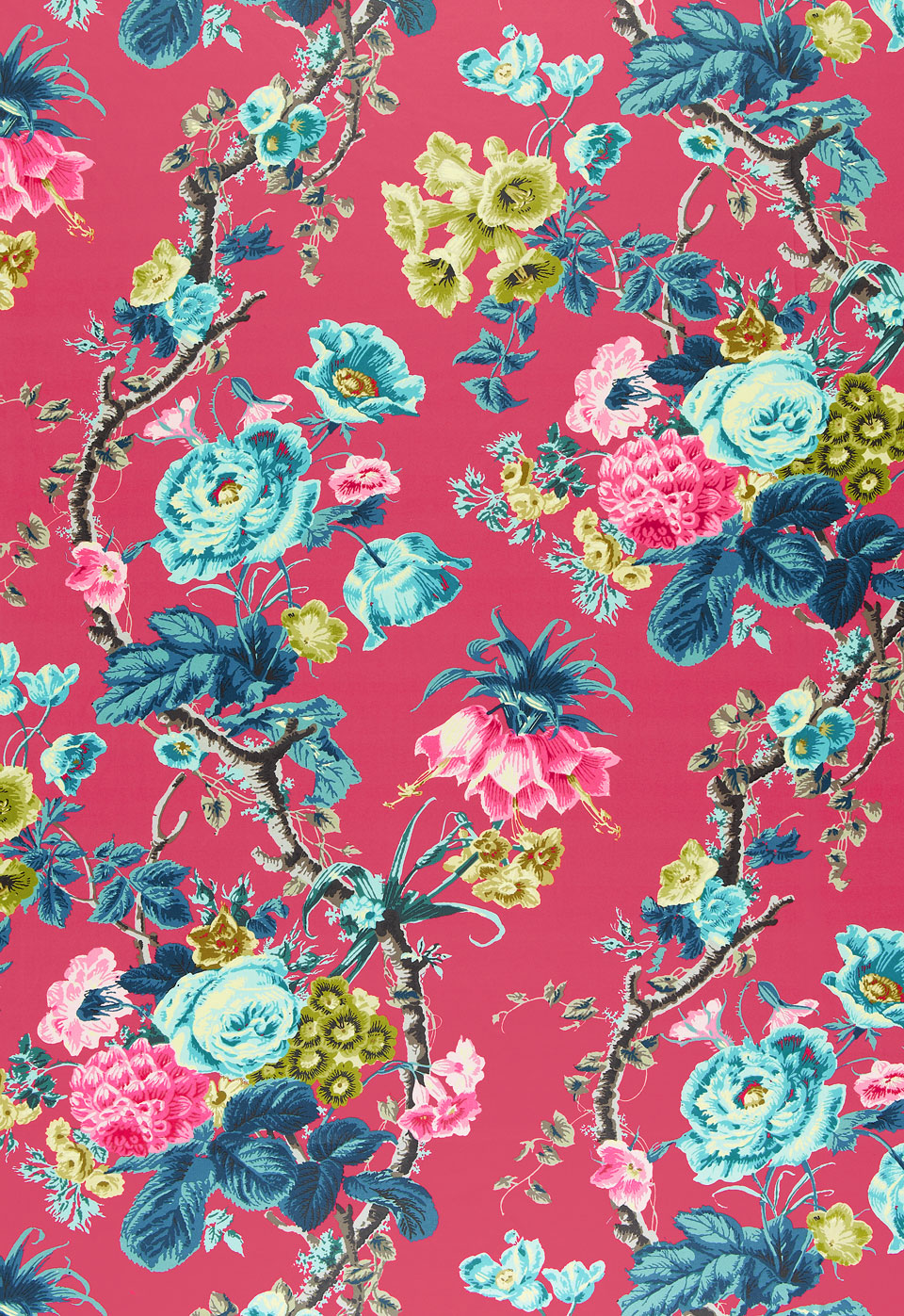 STYLEBEAT THE BLOOM IS ON THE ROSE THE RETURN OF CHINTZ