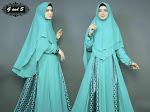 Tips Memilih Model Baju Muslim 2018 untuk Perempuan Bertubuh Kurus