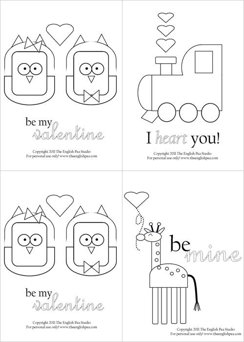 My Owl Barn: 5 Adorable Valentine Printables