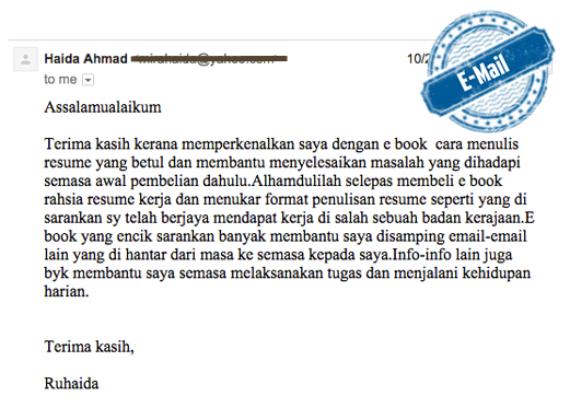 review-rahsia-resume-kerja