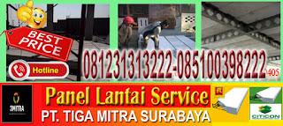 informasi dan pemesanan material panel lantai berikut jasa pemasangannya di Surabaya, Sidoarjo dan Gresik