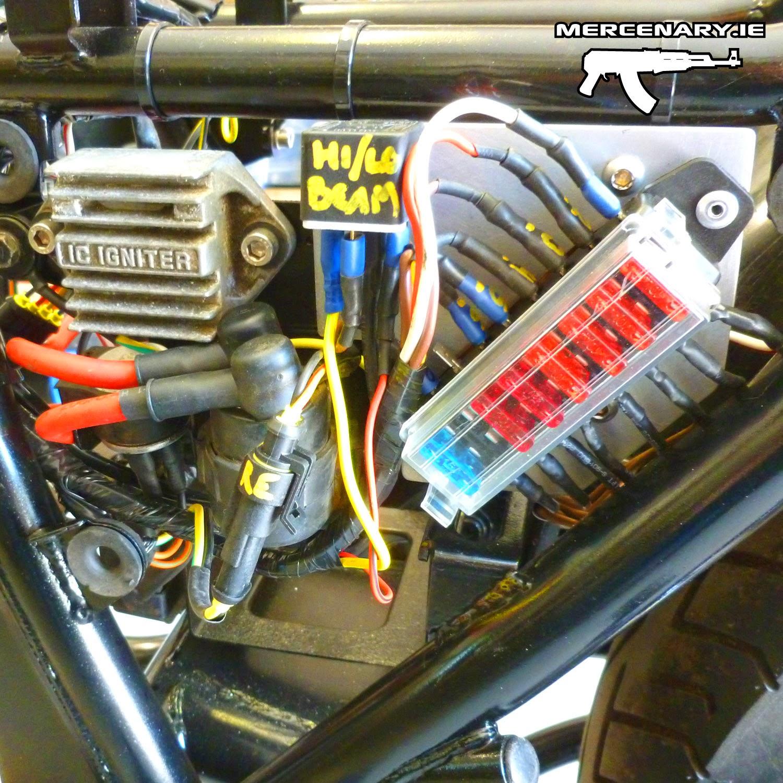 Mercenary Garage - GPZ 1100 Custom Wiring
