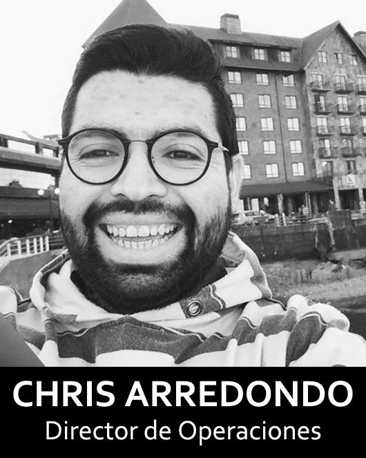 """Chris Arredondo"""