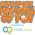 Stars of Nickelodeon, dare devil acts and international comedians to descend upon Clarke Quay at the first Singapore Festival of Fun