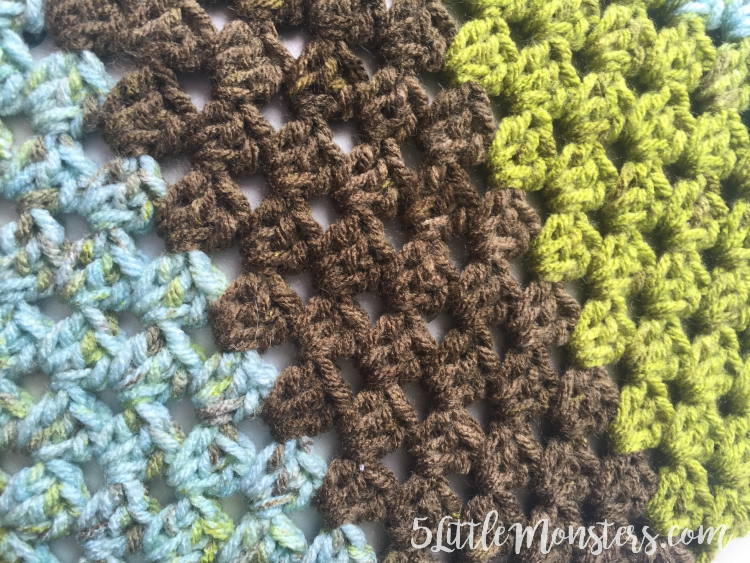 crocheting with Premier Sweet Rolls