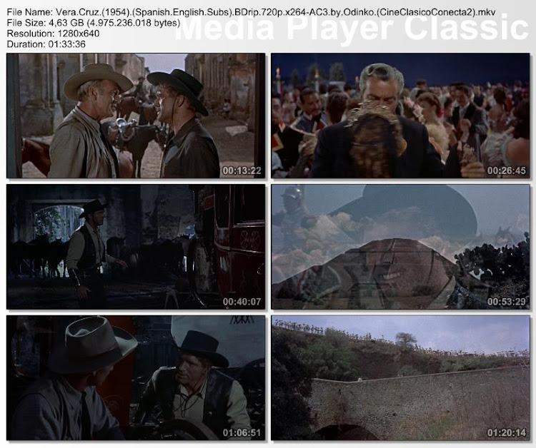 Vera Cruz 1954 | Secuencias de la película