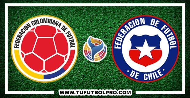 Ver Colombia vs Chile EN VIVO Por Internet Hoy 26 de Enero 2017