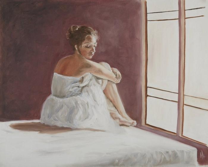 Индийский художник. Abhinaya Ramadurai