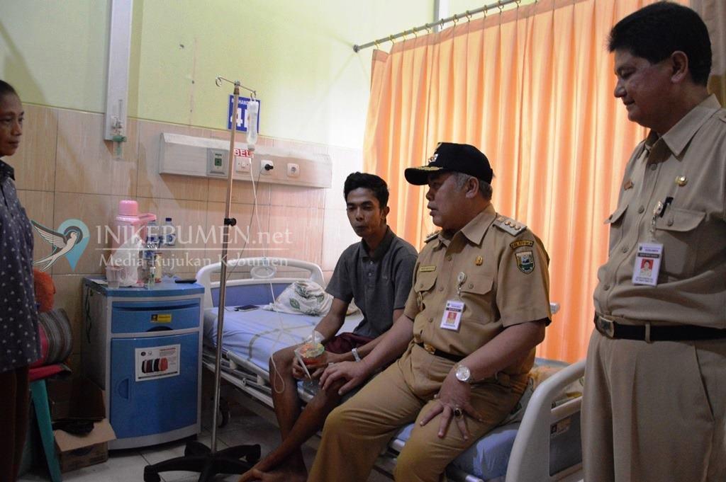Singgih Atmaji, Anggota KPPS Desa Grujugan Petanahan ini Sudah Sepekan Dirawat di PKU Sruweng