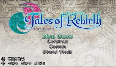 PSP】重生傳奇中文版(Tales of Rebirth),很精緻的角色扮演RPG!