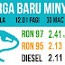 Harga Petrol dan Diesel Secara Mingguan Mulai 30 Mac 2017