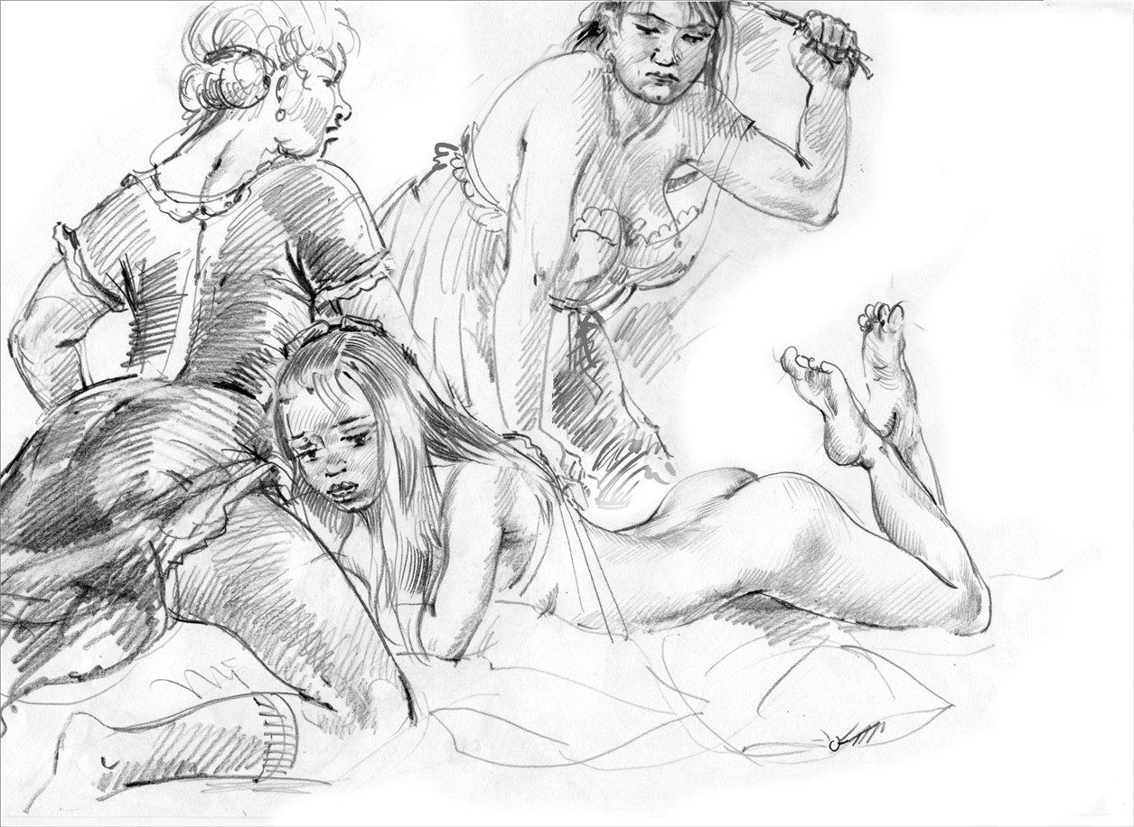 Порка женщин по заднице #11