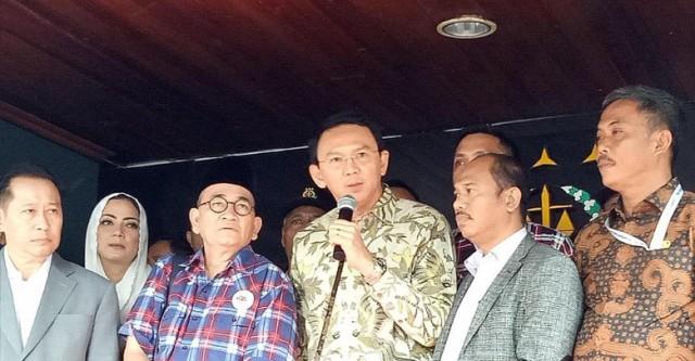 Ahok: Saya Mohon Doa agar Proses Cepat dan Bisa Layani Warga Jakarta Lagi