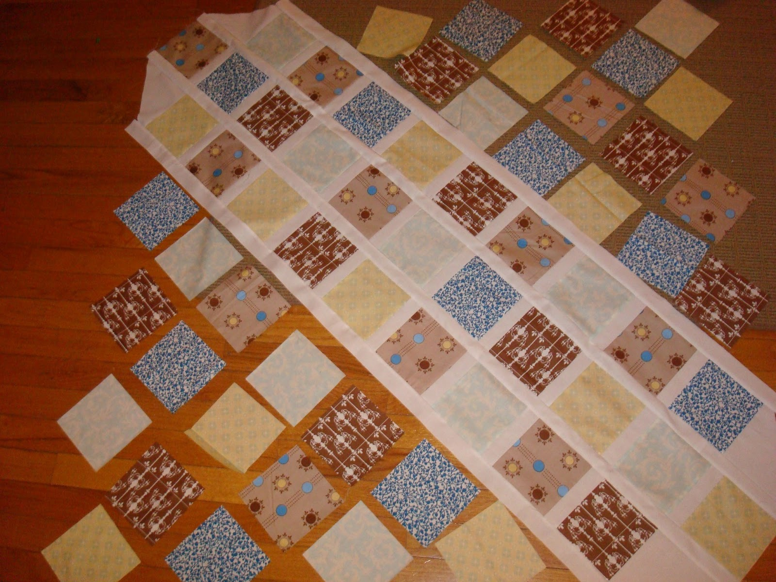 how to put a baby quilt together
