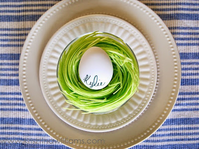 http://www.krisztinaclifton.com/2015/04/3-pretty-ways-to-display-egg-place-card.html