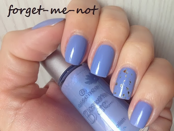 ESSENCE - FORGET-ME-NOT & GOLD TOPPER