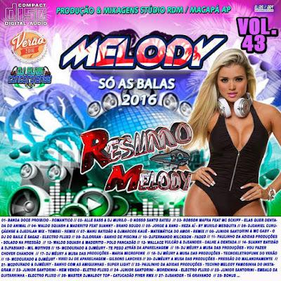 Cd Resumo do Melody vol.43