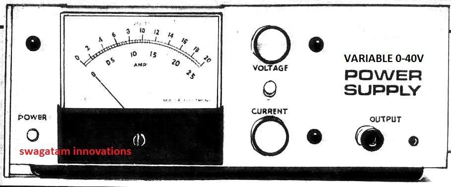 0-40v power supply