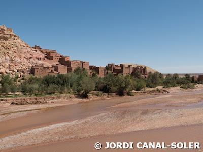 Ait ben Haddou y su río