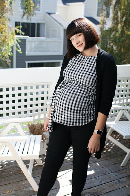 Topshop, Maternity, Pregnancy blog, 35 weeks pregnant, Pregnancy blog, Black and white, OOTD
